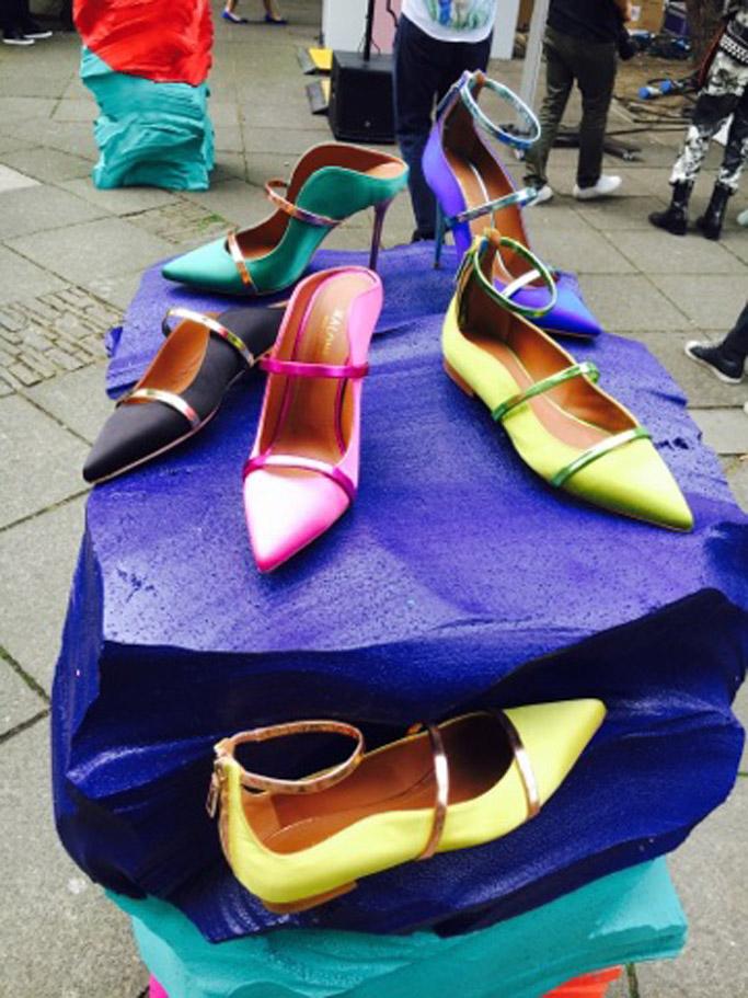 Malone Souliers london fashion week lfw runway spring 2017