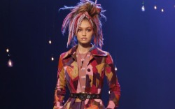marc jacobs spring 2017 nyfw dreadlocks