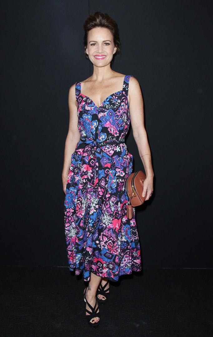 Carla Gugino Marc Jacobs New York Fashion Week spring 2017