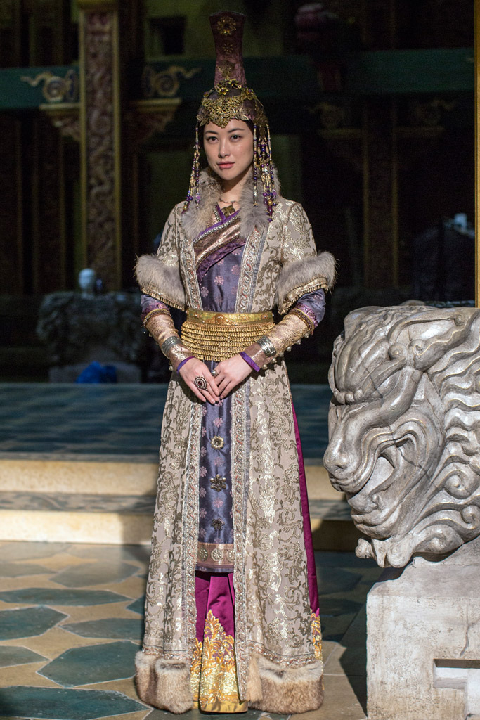 "Costumes for ""Marco Polo"""