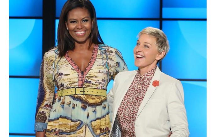 Michelle Obama Hosts With Ellen Degeneres