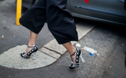 MFW Spring '17 Street Style Shoes