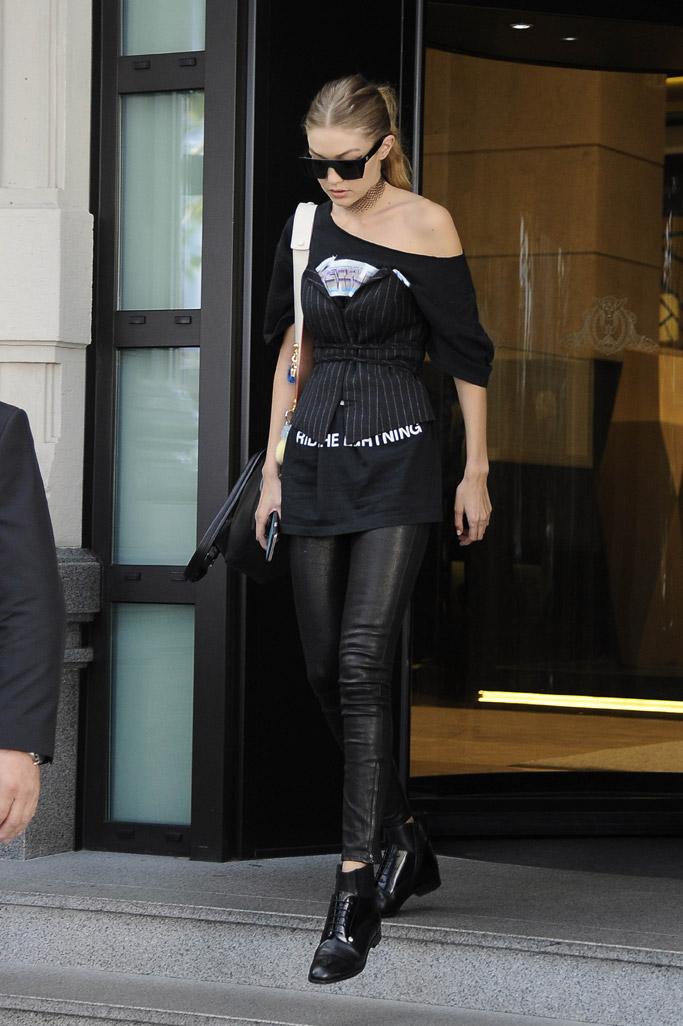 Gigi Hadid Model Off Duty Style