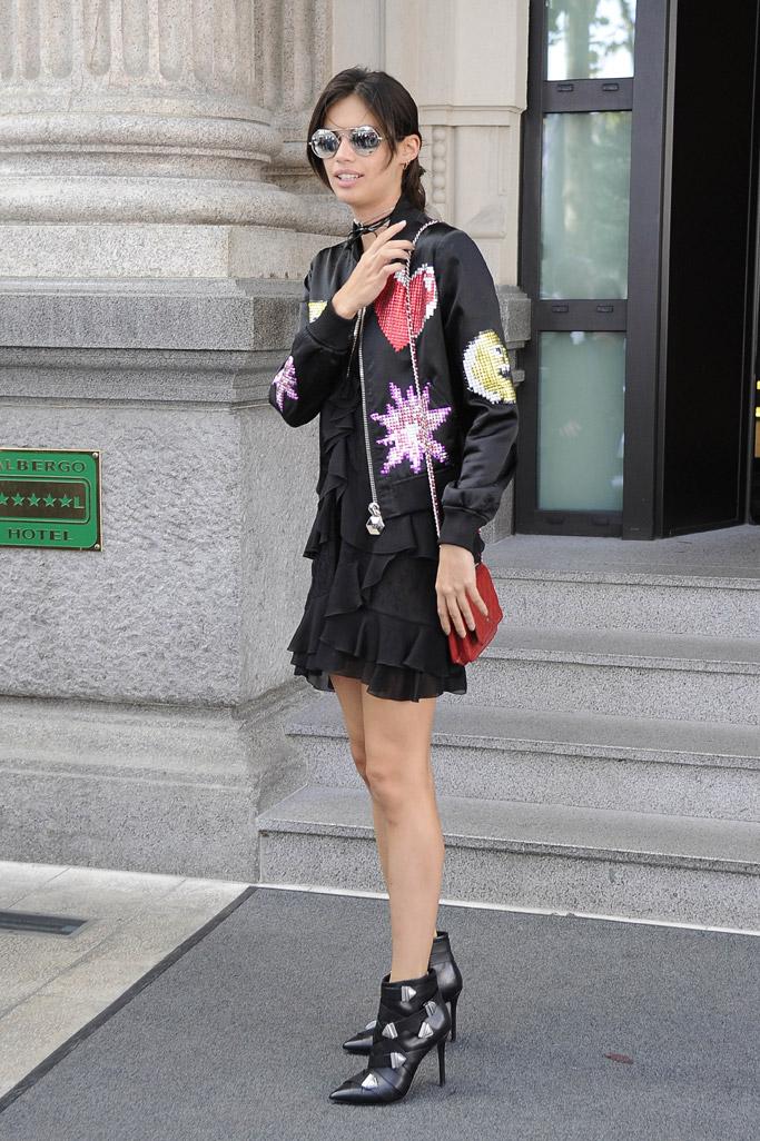 Sara Sampaio Model Off Duty Style