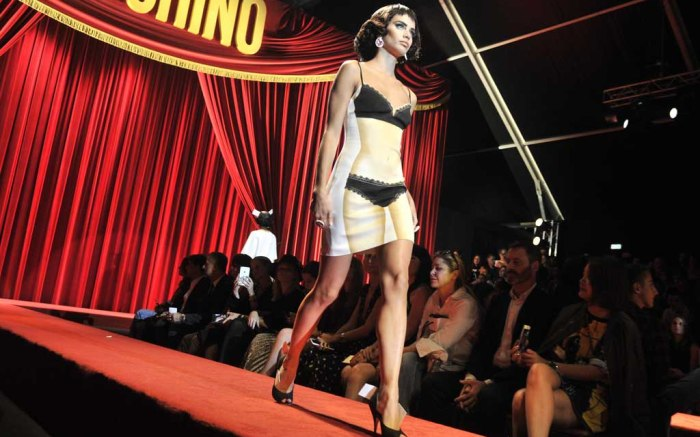 Milan Fashion Week: Moschino