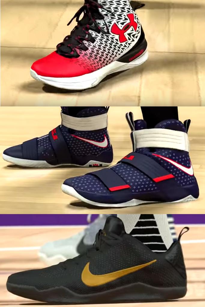 NBA 2K17 Shoes