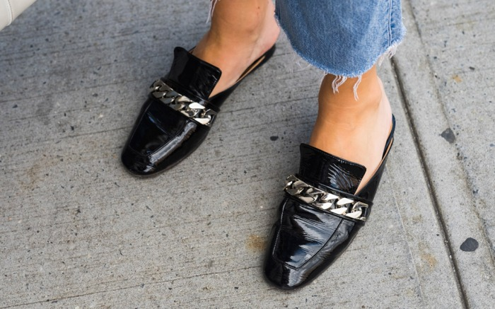 chain link shoes