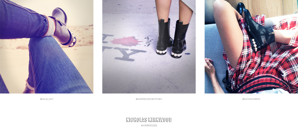 Nicholas Kirkwood Instagram Campaign