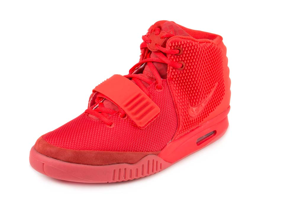 A Pair Of Nike Air Yeezy 2s Are For