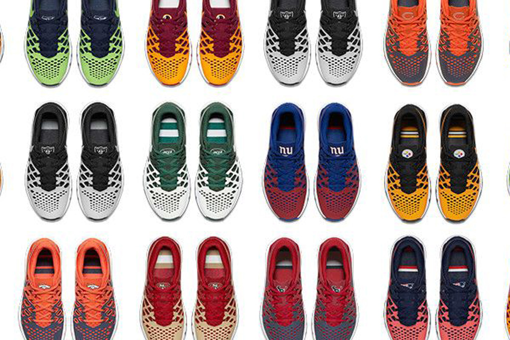 Nike Sneakers With Team Logos
