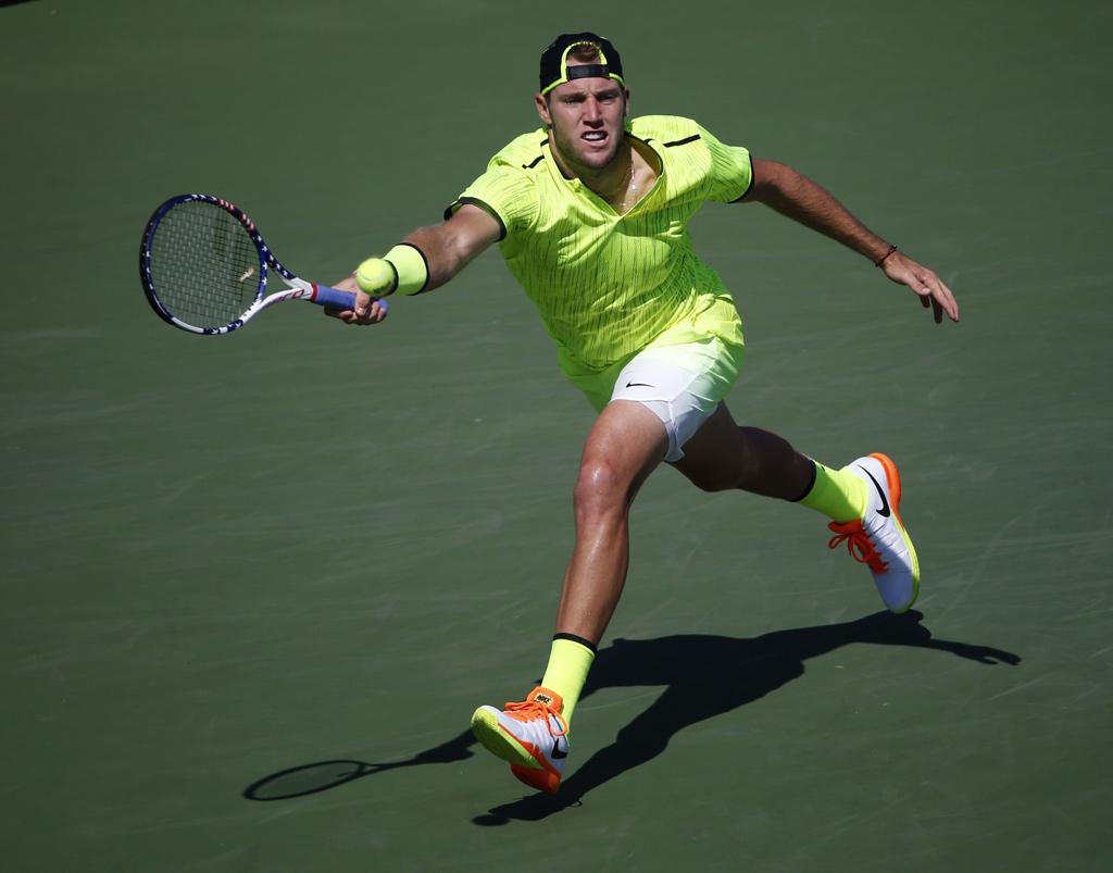 Jack Sock U.S. Open Neon Nike Outfit