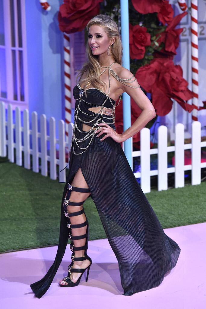 Paris Hilton Philipp Plein Milan Fashion Week