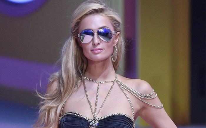 Paris Hilton Philipp Plein MFW