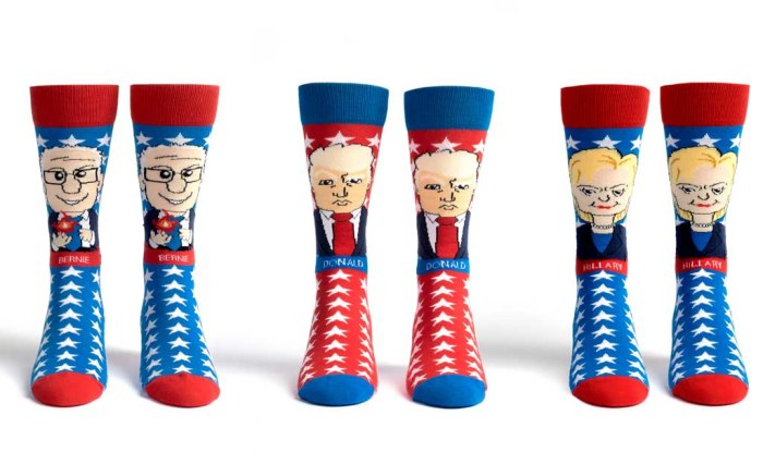 election 2016 foot cardigan socks presidential debate hillary clinton donald trump