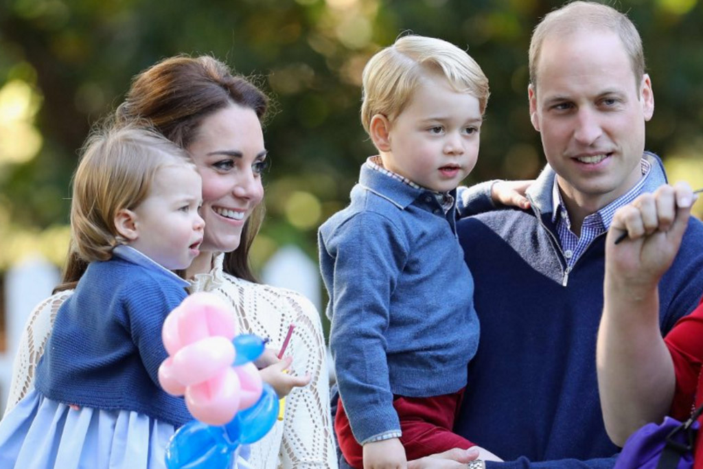 Prince George Princess Charlotte Royal Visit Canada