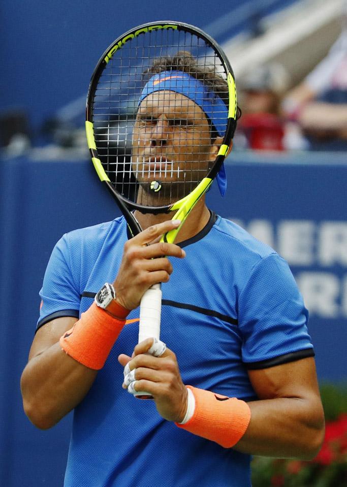 rafael nadal us open 2016 tennis nike