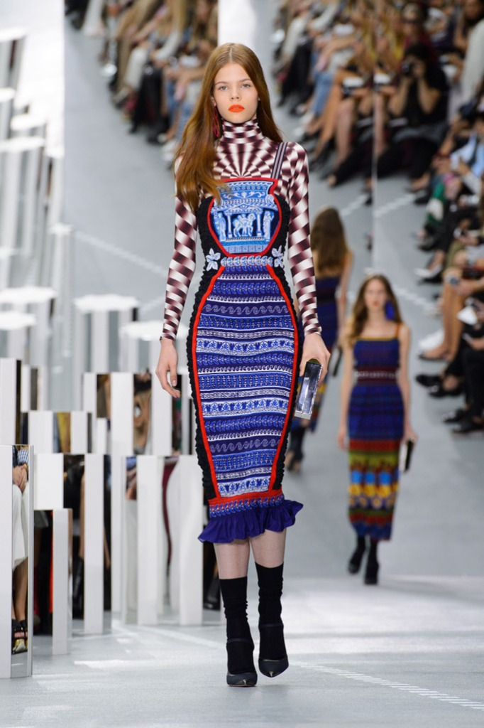 Mary Katrantzou london fashion week lfw runway spring 2017
