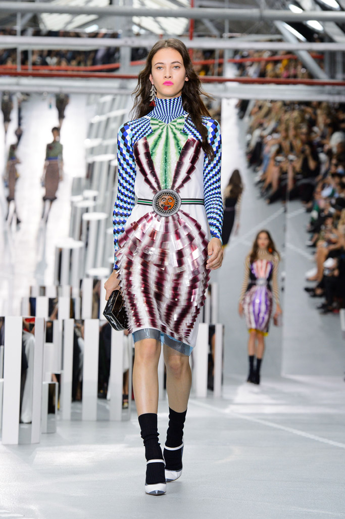 Mary Katrantzou's spring 2017 presentation at London Fashion Week.