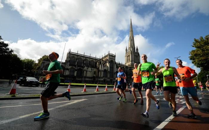 Great Bristol Half Marathon, UK - 25 Sep 2016
