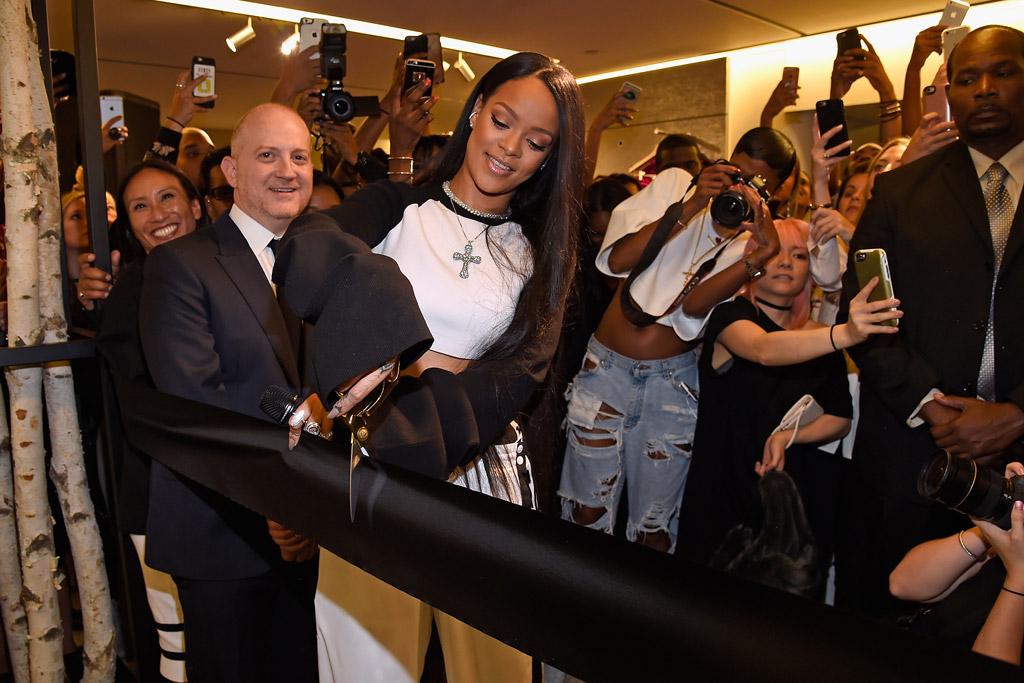 Rihanna Fenty Puma Collection Bergdorf Goodman