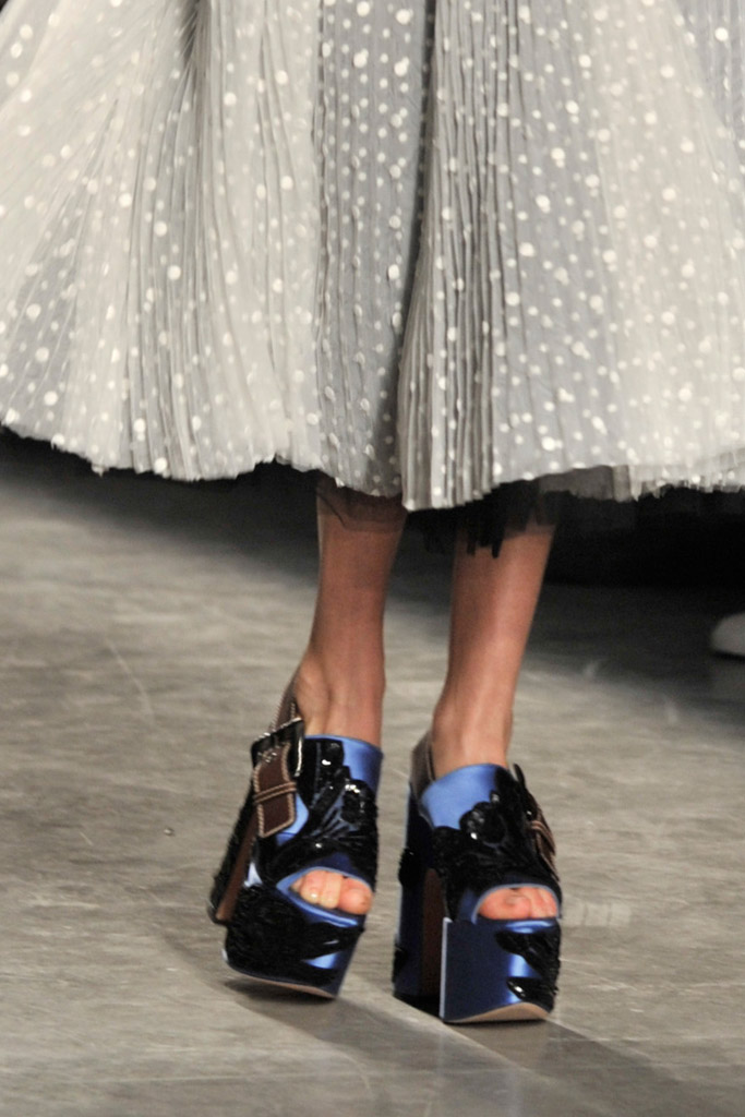 Rochas Spring 2017 Shoes
