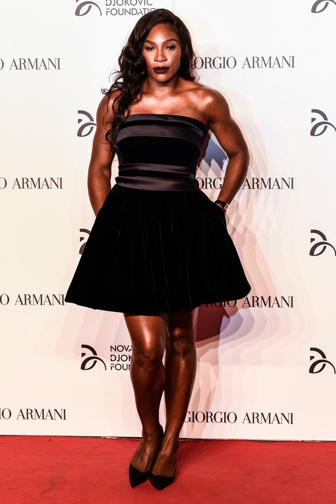 Serena Williams Novak Djokovic Foundation