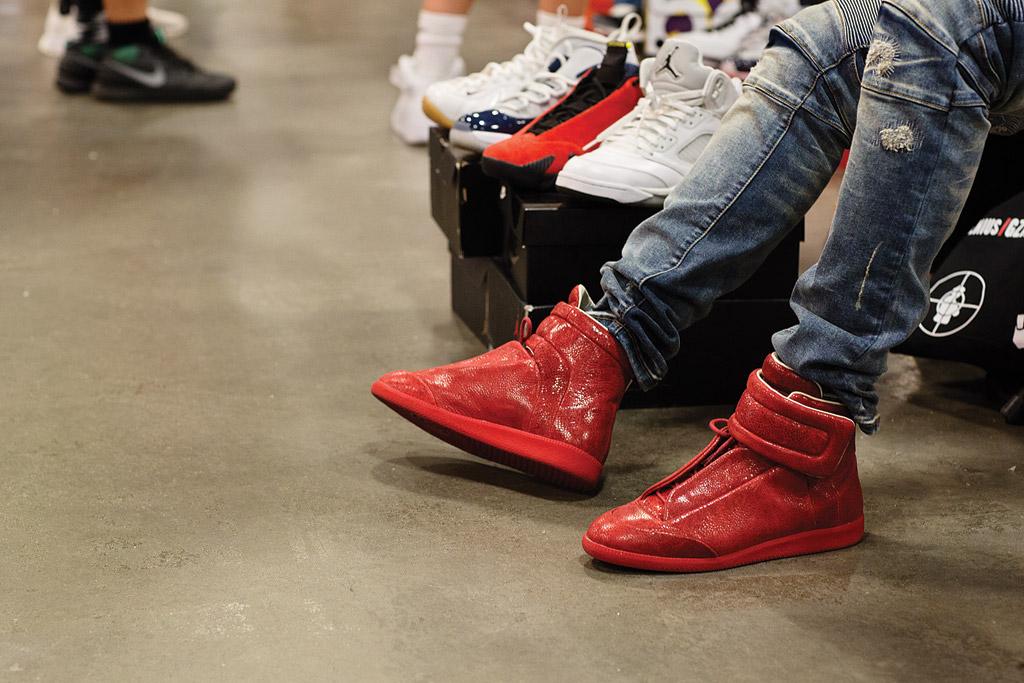 Sneaker Street Style Solexchange Sneaker Convention