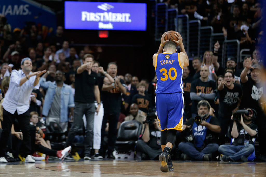 Stephen Curry Game 6 NBA Finals