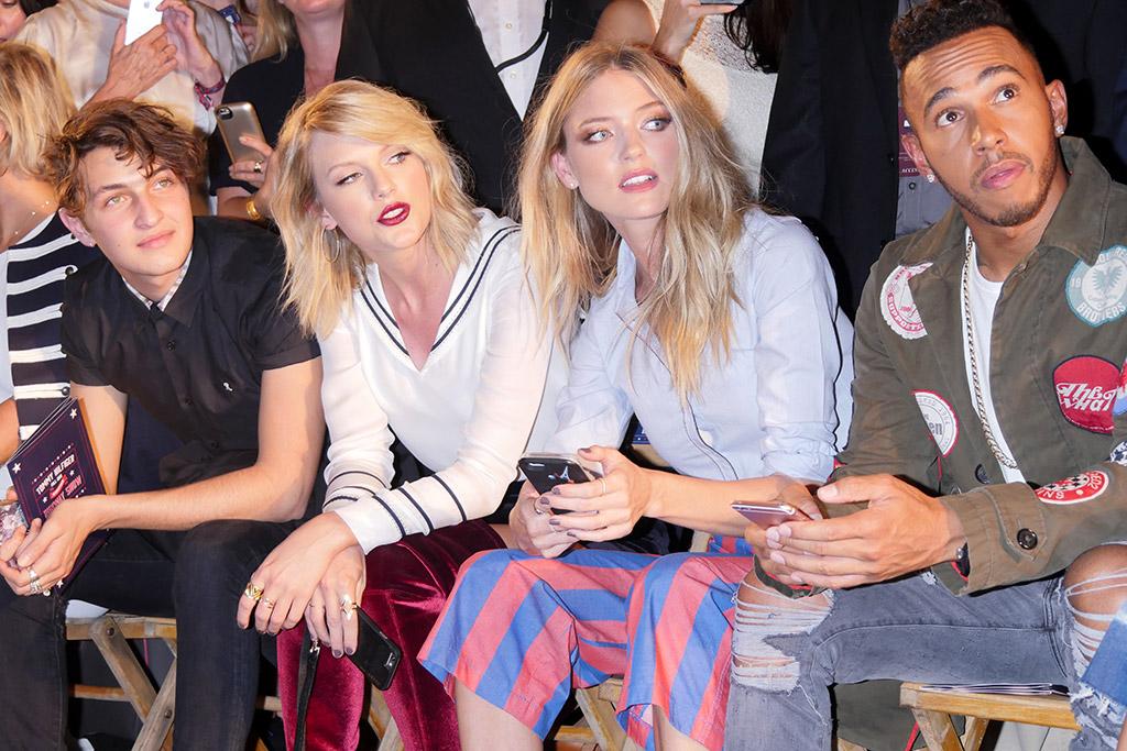 Taylor Swift Tommy Hilfiger Fashion Show