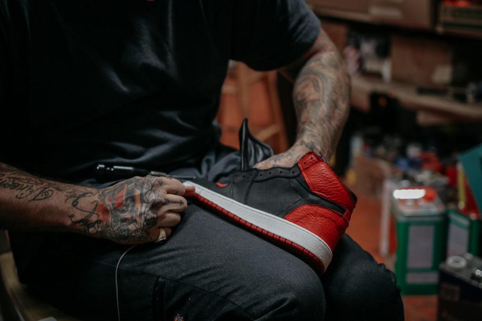 Shoe Surgeon Air Jordan 1 Banned Swoosh