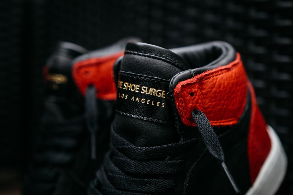 Shoe Surgeon Air Jordan 1 Banned Swoosh