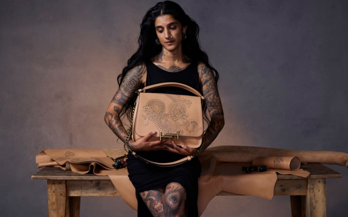 Tod's Tattoo Customized Bags