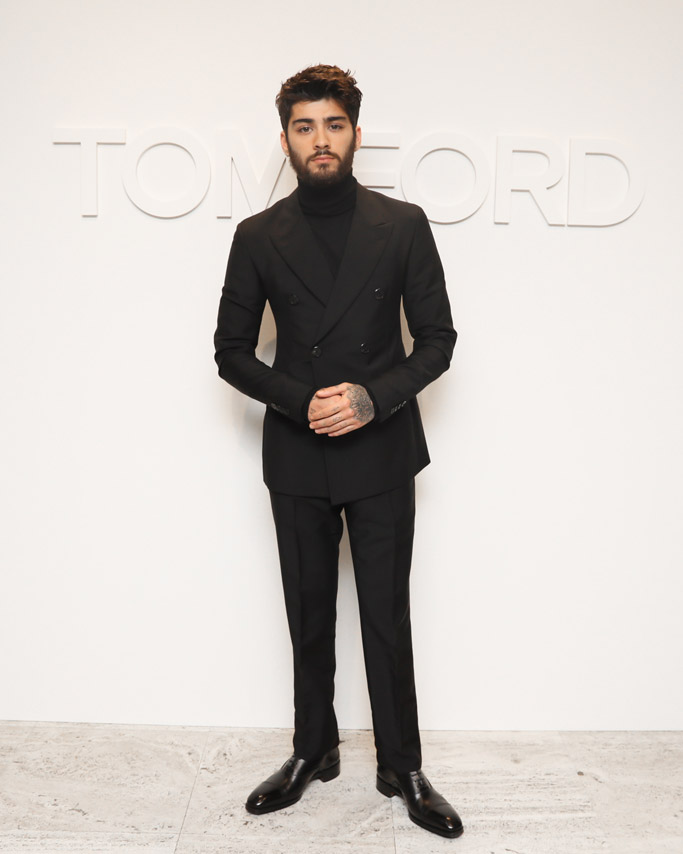 Zayn Malik Tom Ford Fall 2016 Show