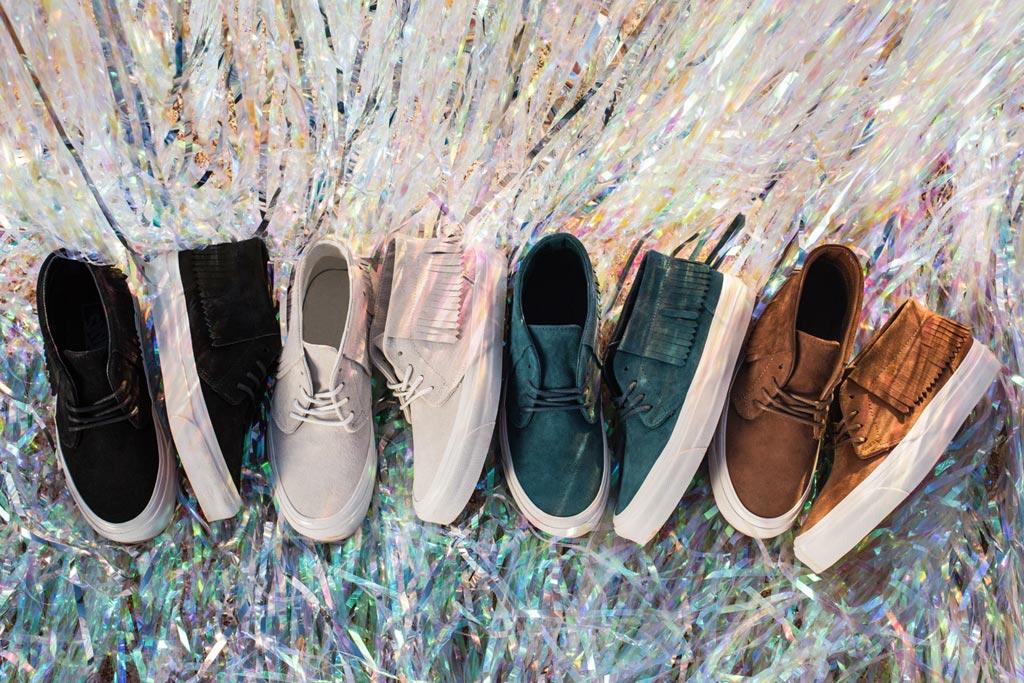 Vans Fringe Sneakers Women