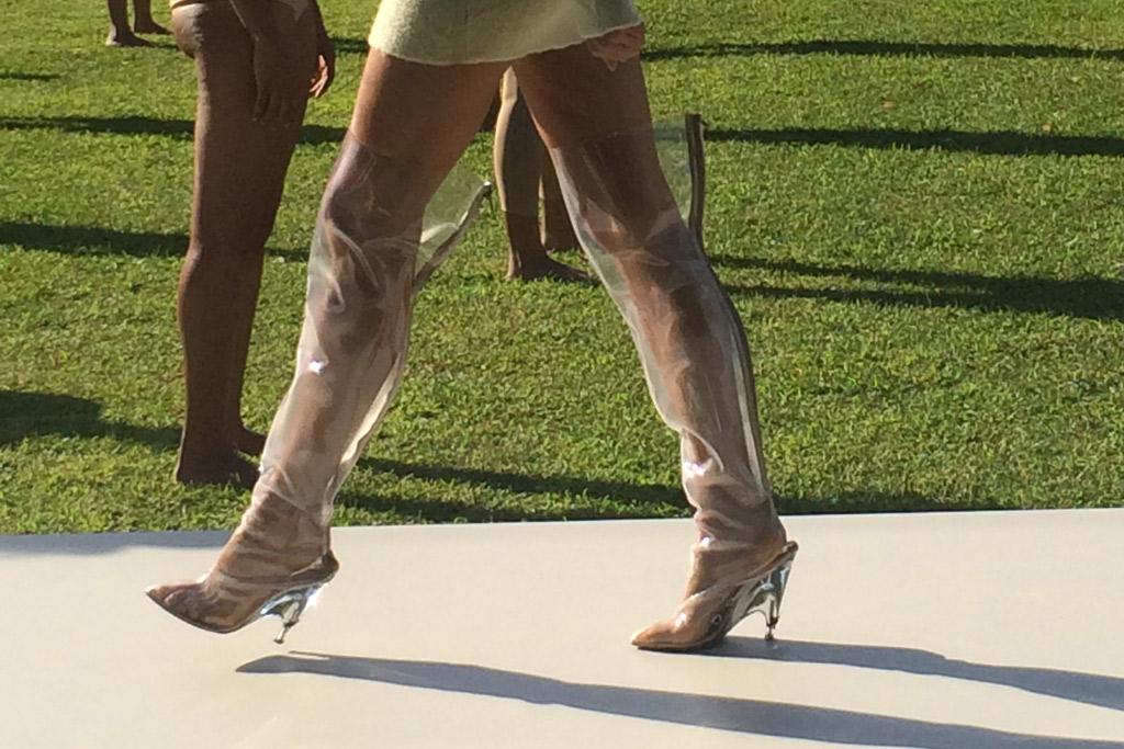 Yeezy Season 4 Clear Boots
