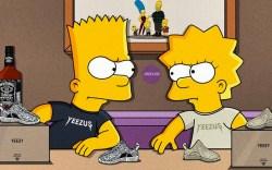 Yeezys Simpsons Illustrations