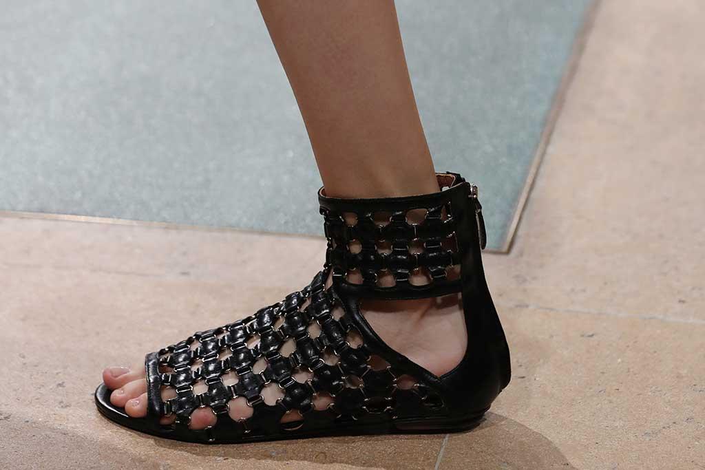 Alaïa armor sandals