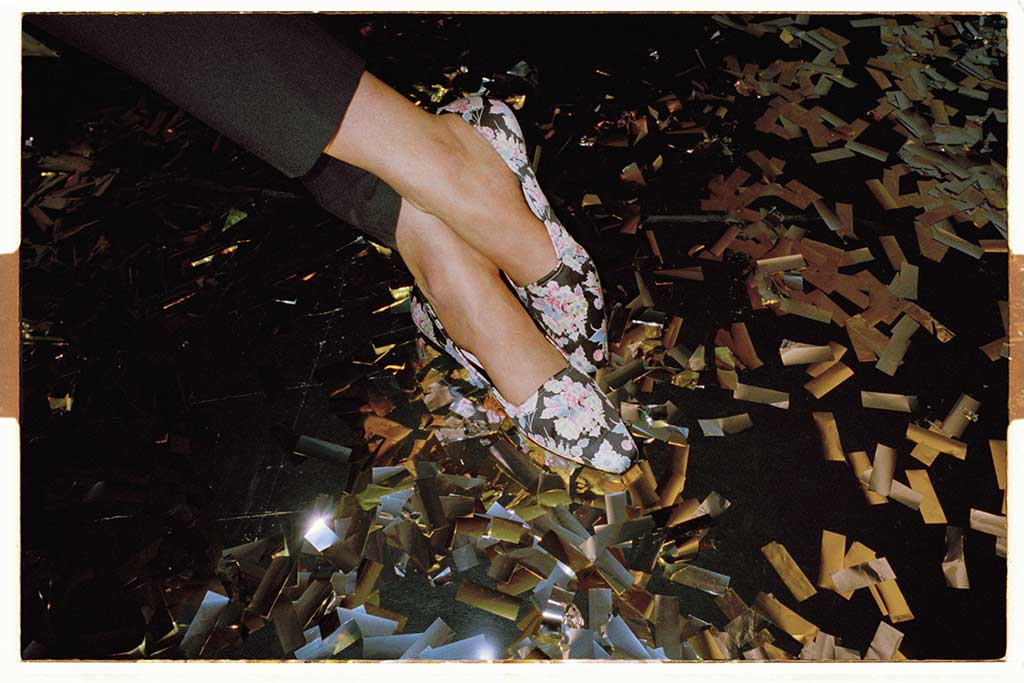 The Archive by Alexa floral York Pump.