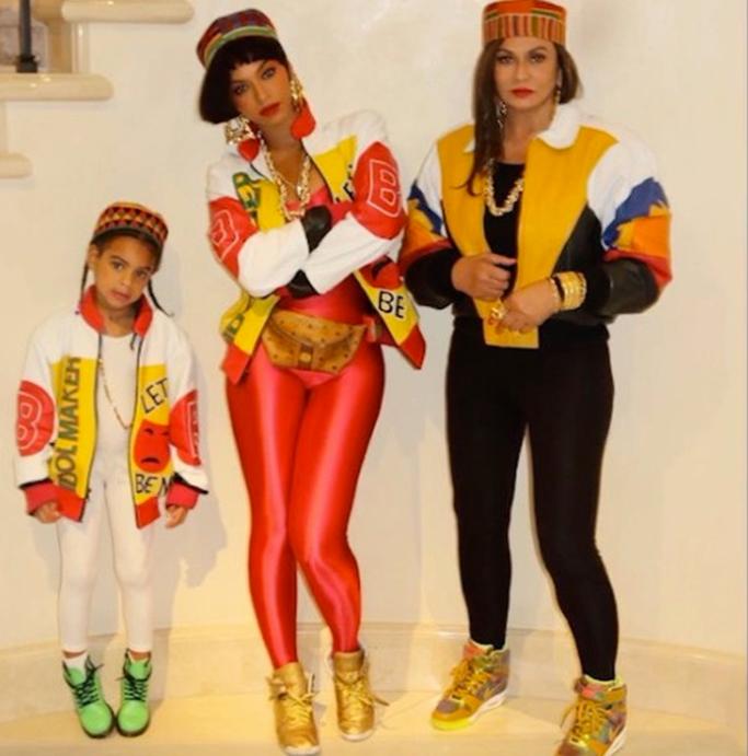 Beyoncé Blue Ivy Halloween Costumes