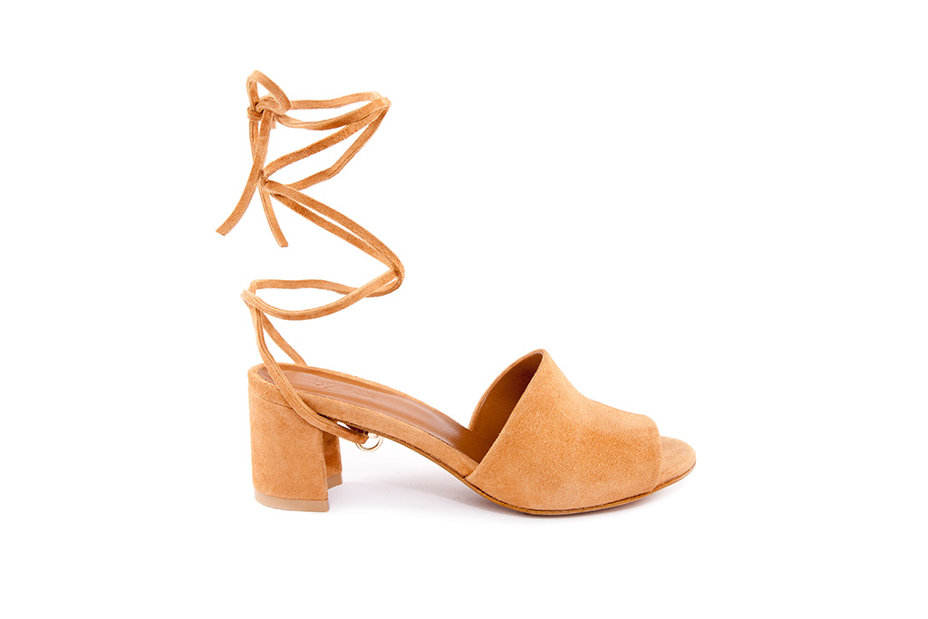 By FAR Valentina mule with detachable strap