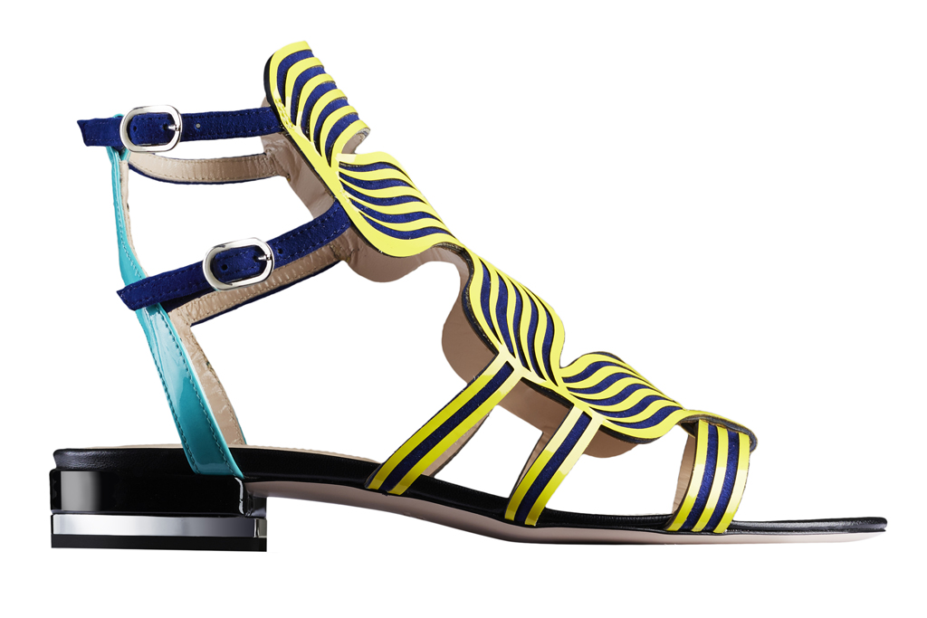 A spring '17 flat sandal