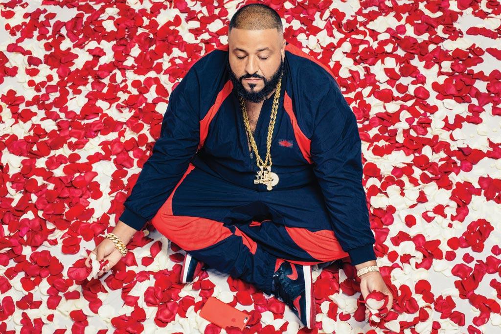 DJ Khaled Footwear News