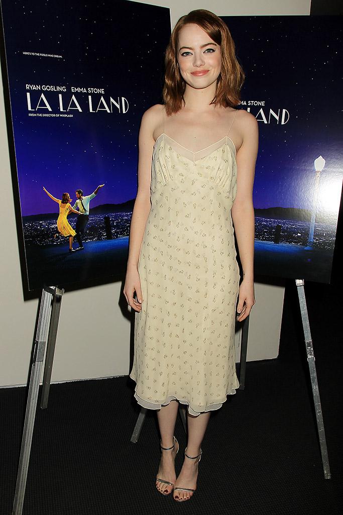 Emma Stone in Jimmy Choo La La Land