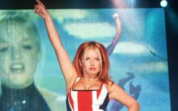 Geri Halliwell , 1997, 90s shoes,