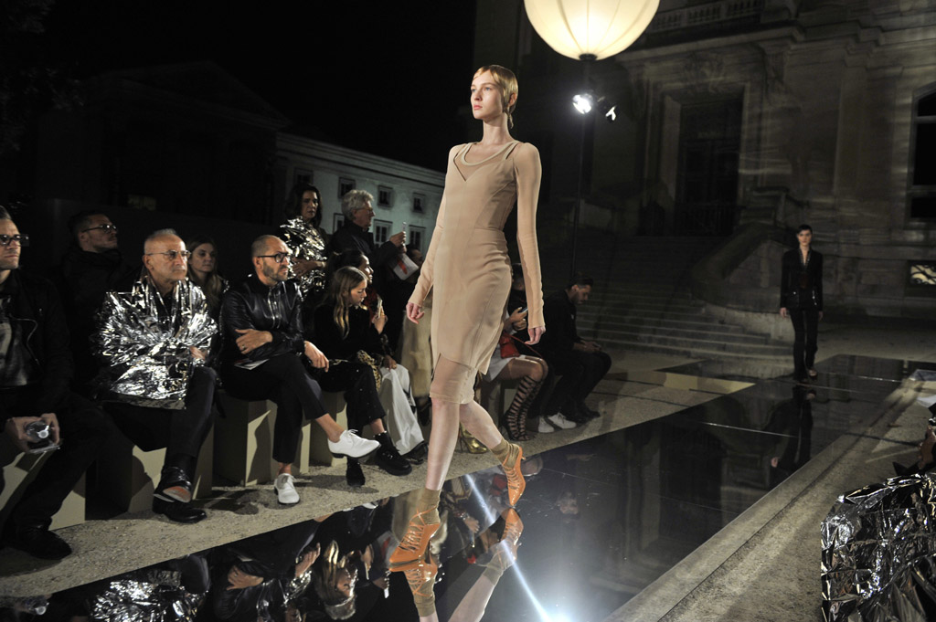 Givenchy's spring 2017 collection at Paris Fashion Week.
