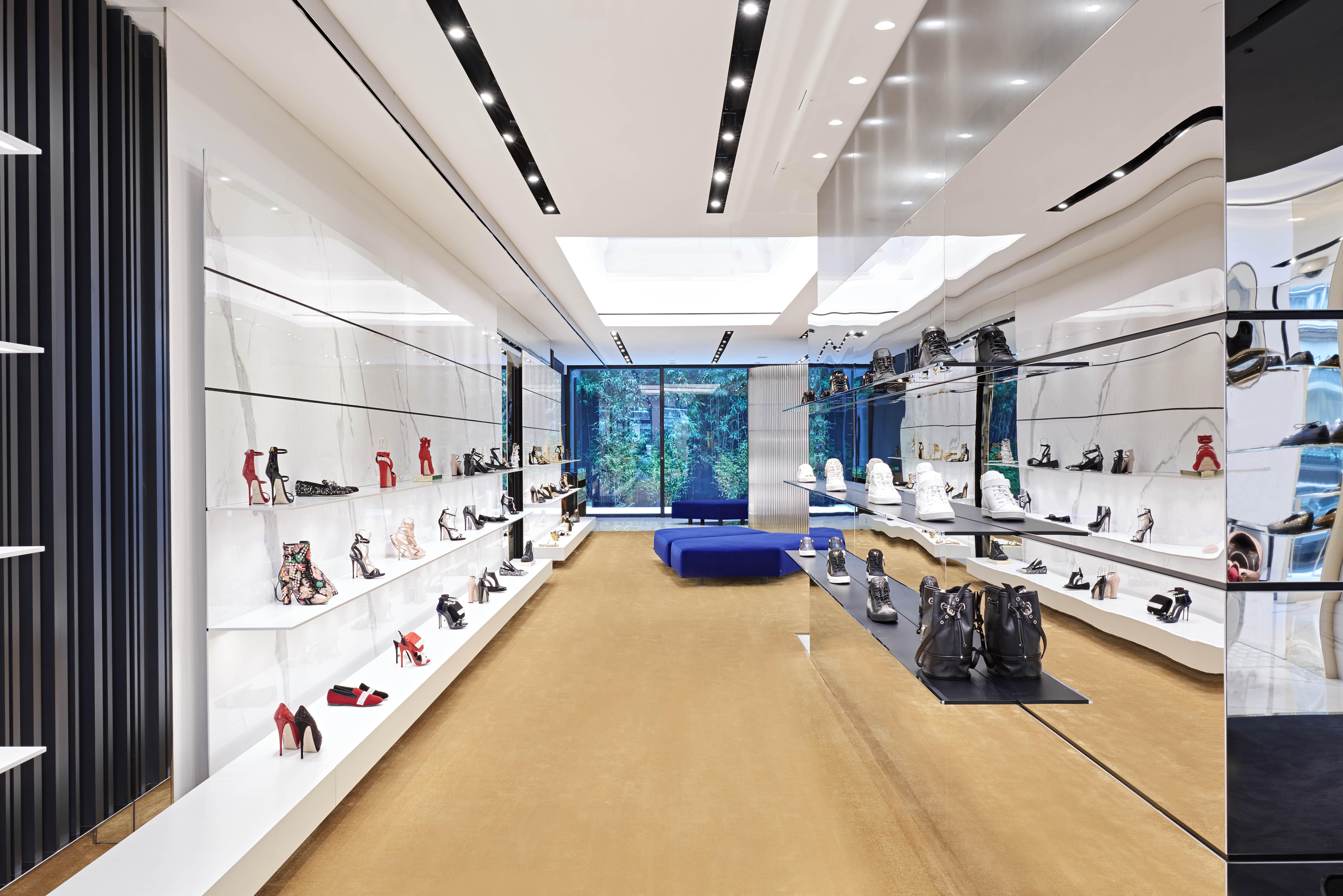 Giuseppe Zanotti store Condiut Street