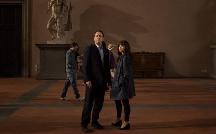 Tom Hanks and Felicity Jones were Salvatore Ferragamo costumes in new film adaptation of Dan Brown's Inferno novel
