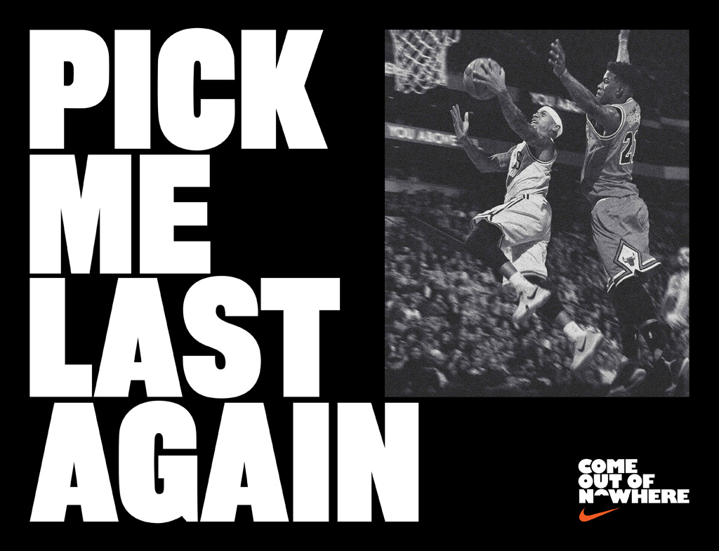 Isaiah Thomas Nike Come out of Nowhere