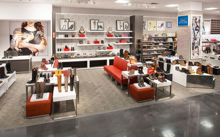 JCPenney women's shoes