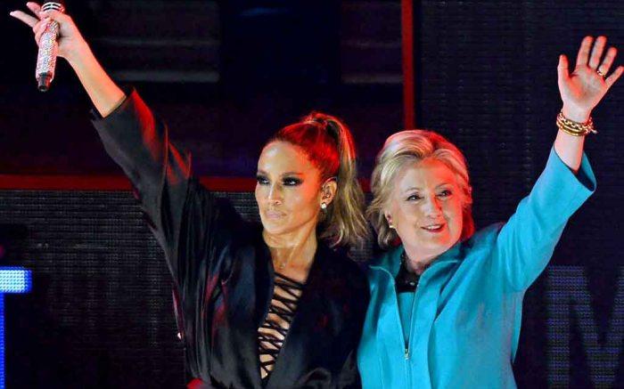 Jennifer Lopez Rocks the Vote
